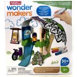 Fisher-Price Wonder Makers színezős faházikó - Mattel