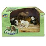 Animal World Állat figura 4db-os szett